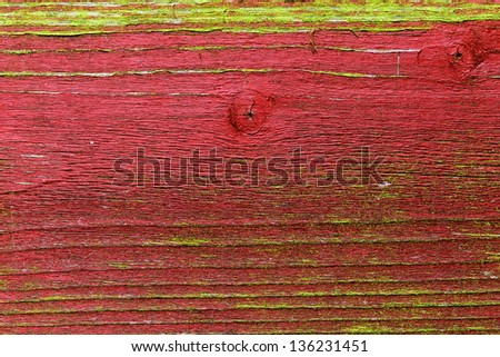 abstract red wooden background