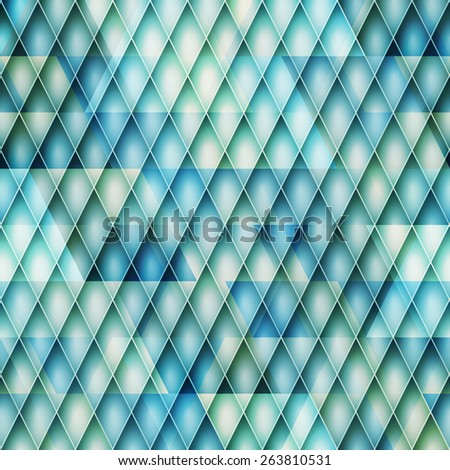 abstract regular background with blue surface. industrial wallpaper - stock photo