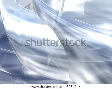 Abstract Render - stock photo
