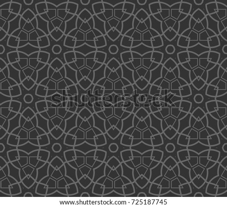 Abstract repeat backdrop. Design for decor, prints, textile, furniture, cloth, digital.   monochrome seamless pattern