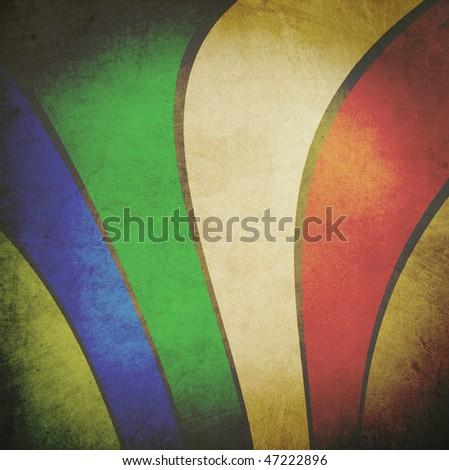 Abstract retro Background - stock photo