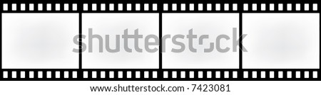 abstract retro film strip - stock photo