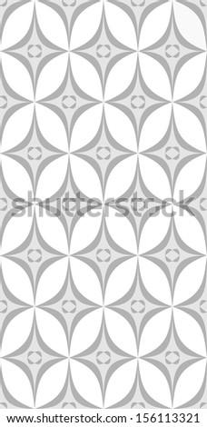 Abstract Retro Geometric seamless pattern.