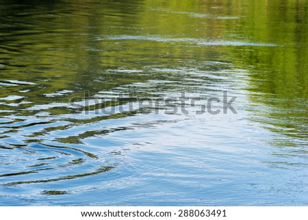 Abstract river water ripple wave. - stock photo