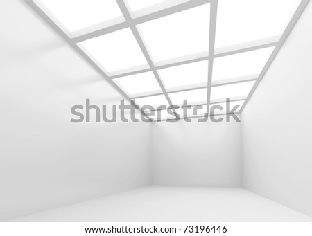 Abstract Room - stock photo