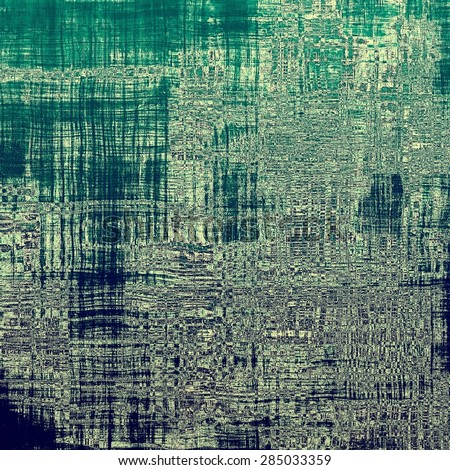 Abstract rough grunge background, colorful texture. With different color patterns: gray; black; blue; green - stock photo