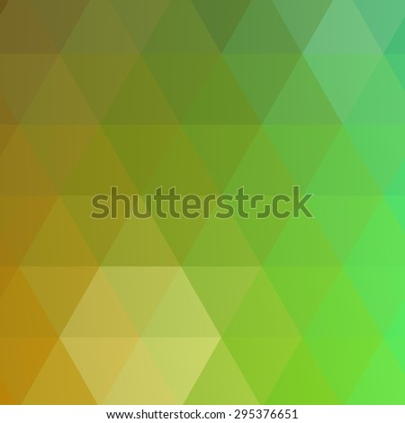 abstract rumpled triangular background, low poly style - stock photo