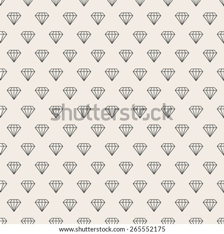 Abstract seamless background. Line pattern. Diamonds background - stock photo