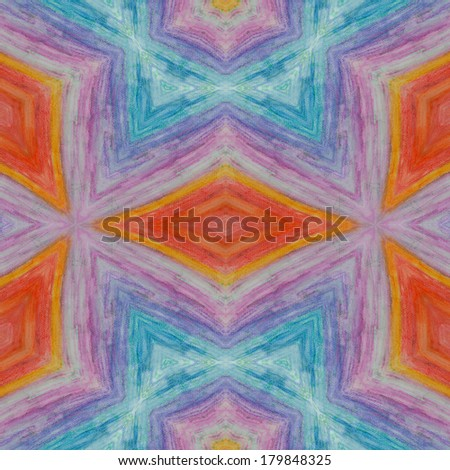 abstract seamless colorful wallpaper background - stock photo