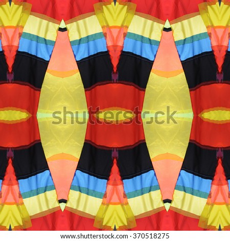 Abstract seamless fabric pattern : Decoration wall and floor - stock photo