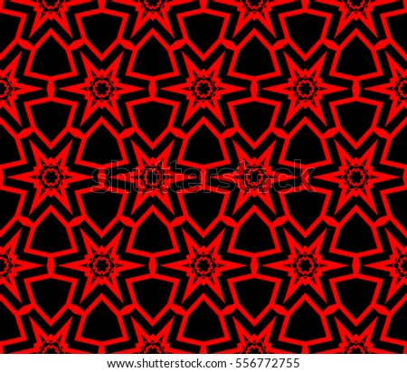abstract seamless geometries pattern. Red color. for wallpaper. design page fill. raster copy illustration