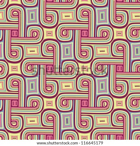 Abstract seamless pattern-model for design of gift packs, patterns fabric, wallpaper, web sites, etc. - stock photo