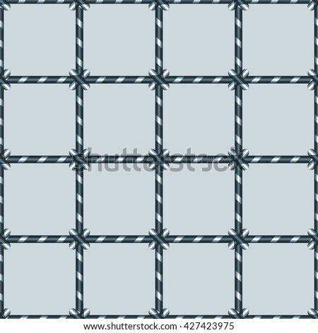 Abstract seamless pattern of the netting background - stock photo