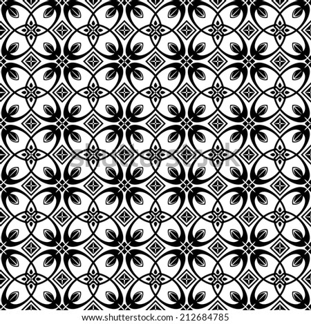 Abstract seamless pattern raster version