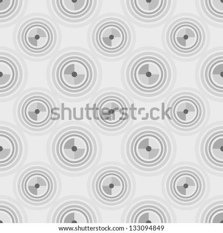 Abstract seamless pattern. Raster version of vector illustration. - stock photo