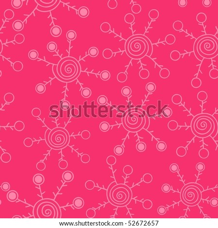 Abstract seamless pattern. Spiral elements for your design. Vector version is in my portfolio.