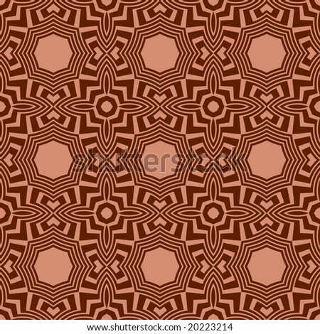 Abstract seamless  pattern (vector in portfolio)