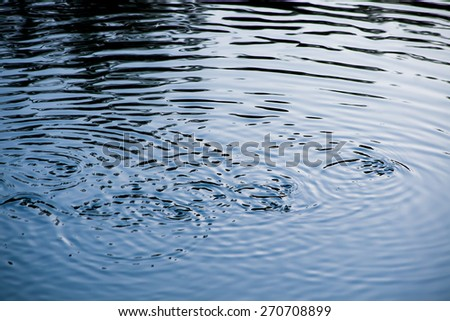 abstract shadow on water