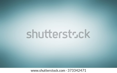 abstract shiny blue white background with smooth blurred texture with sky blue tinted border, blurry background, pastel blue and white color center - stock photo