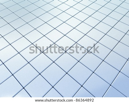 Abstract shiny cubes background - stock photo