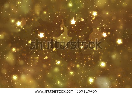 abstract shiny gold background