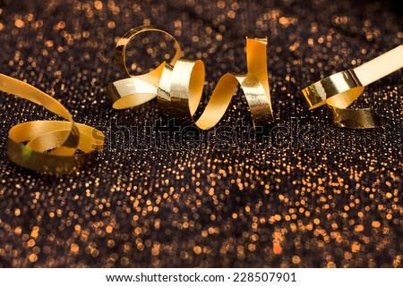 Abstract, shiny holiday background - stock photo