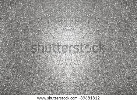 abstract silver background. glitter sparkles - stock photo