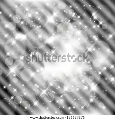 Abstract silver celebration background, party concept.