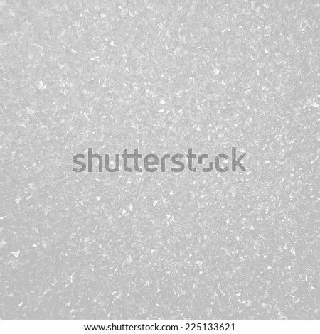 Abstract silver christmas snow background - stock photo