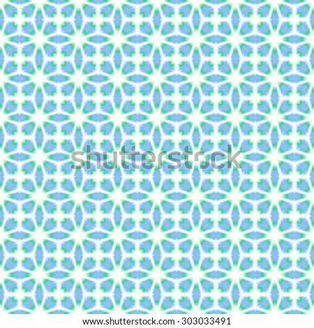 Abstract simple blue floral pattern. Petal texture background. Seamless illustration.