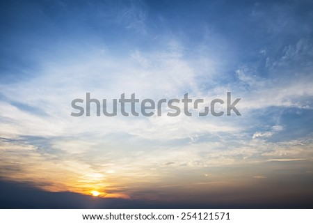 Abstract sky cloud as texture - stock photo