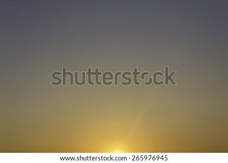 abstract sky sunset. - stock photo