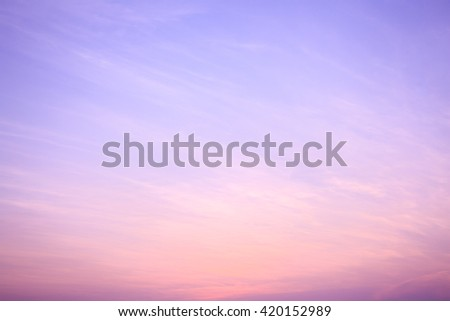 Abstract sky sunset sky background - stock photo