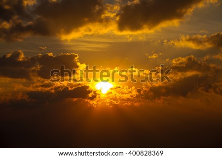 Abstract sky texture and clouds background