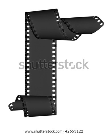 Abstract Slide Films Frame Isolated On Stock Photo (Royalty Free ...