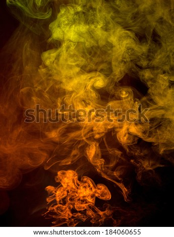 Abstract smoke on a background - stock photo