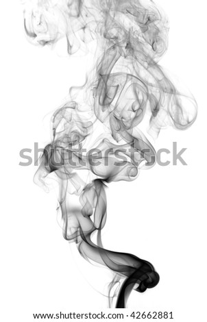 Abstract smoke wave