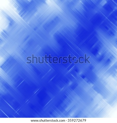 abstract smudge blue violet crosses lines background - stock photo
