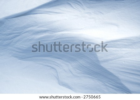 abstract snow background. Ideally for a background in your design. - stock photo