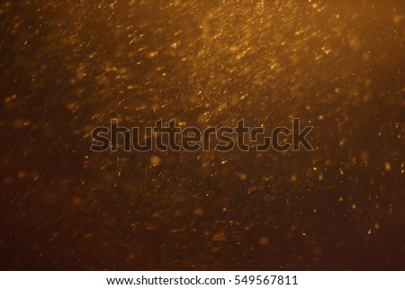 "Abstract Snowstorm texture. Falling snow. Light flashes and bokeh. Sun rays. Lens flare. For use as texture layer in your project. Add as ""Lighten"" Layer in Photo Editor to add falling snow any image."