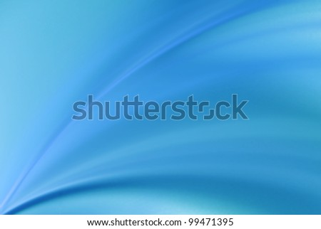 Abstract Soft Blue Background - stock photo