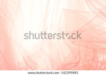 Abstract soft chiffon texture background - stock photo