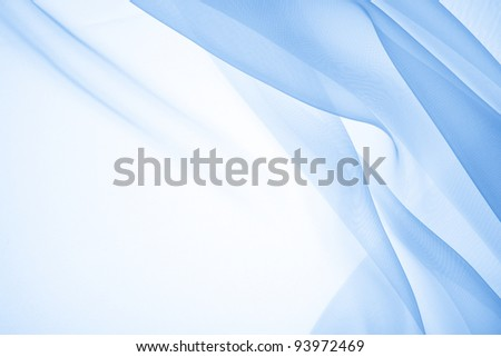 Abstract soft chiffon texture background - stock photo