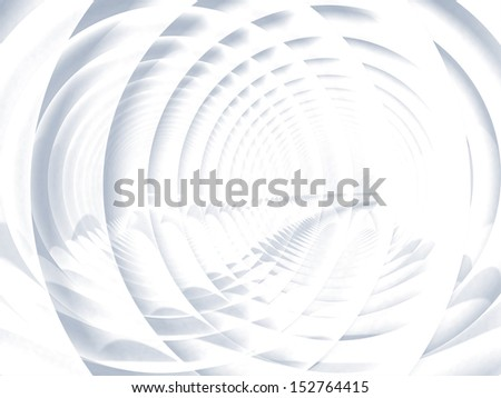 Abstract soft white spiral illustration background texture - stock photo