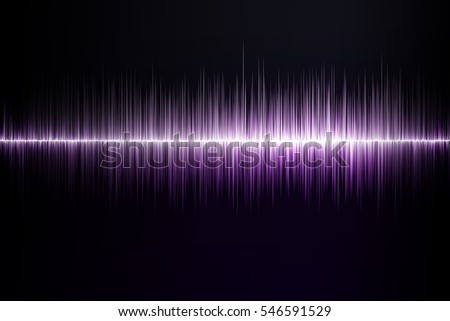 abstract sound-wave equalizer background