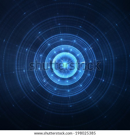 Abstract space stars futuristic new age background - stock photo