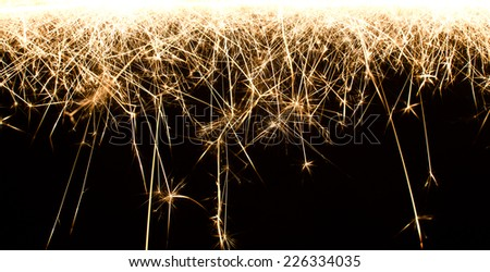 Abstract sparkler motion texture.  - stock photo