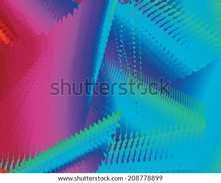 Abstract spectrum background-Rainbow spectrum colors of red orange blue purple green scribbled texture background design - stock photo
