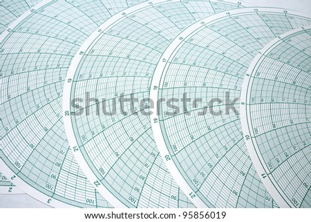 Abstract Spherical Graph Design for Latitude Longitude Mapping - stock photo