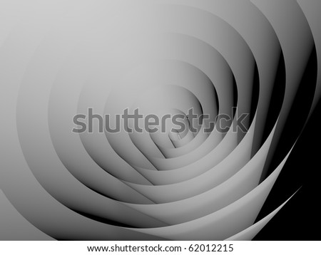 abstract spiral - stock photo